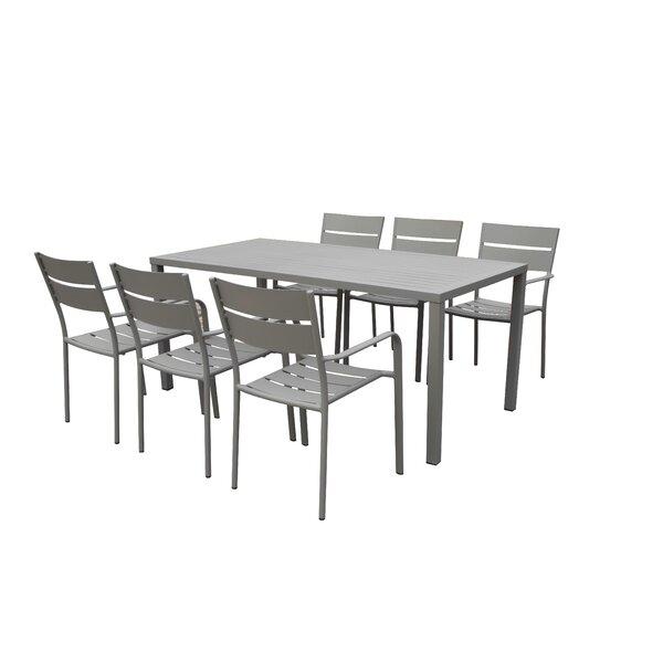 MMI Metal Dining Table by Brayden Studio