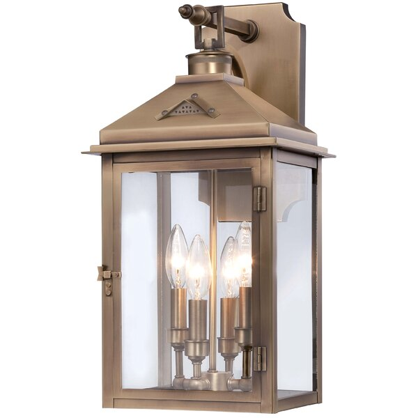 Merton 4-Light Outdoor Wall Lantern by Darby Home Co