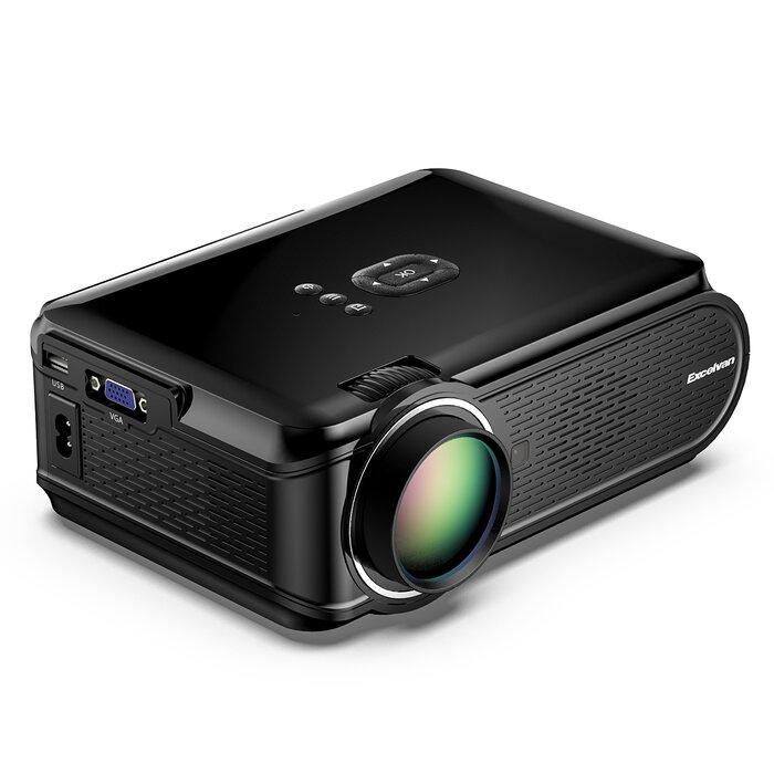 Mini HD 1080P LED Projector Home Theater Cinema 3D HDMI VGA USB SD AV Multimedia