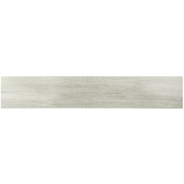 Helena 8 x 45 Porcelain Wood Look Tile in Silver by Splashback Tile