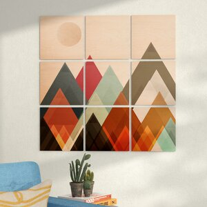 'Pepper Moon' Graphic Art Print Multi-Piece Image on Wood by East Urban Home