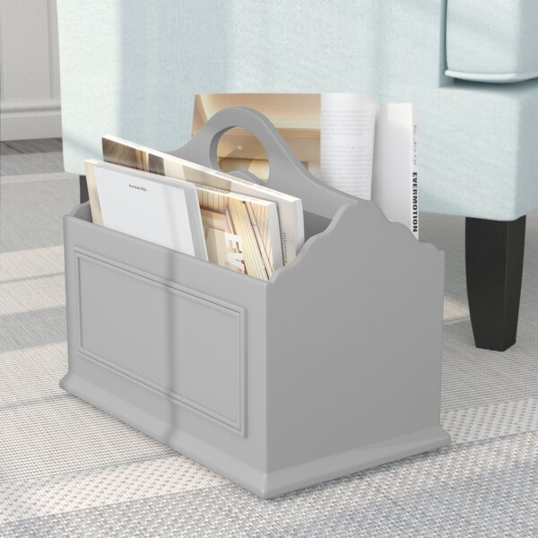 Adaline Mobile Home Park Magazine Rack by Beachcrest Home