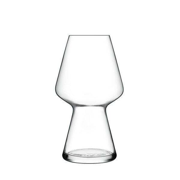 Birrateque 23 oz. Crystal Pint Glass (Set of 2) by Luigi Bormioli