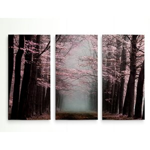 'Listen' Graphic Art Print Multi-Piece Image on Gallery Wrapped Canvas by Alcott Hill