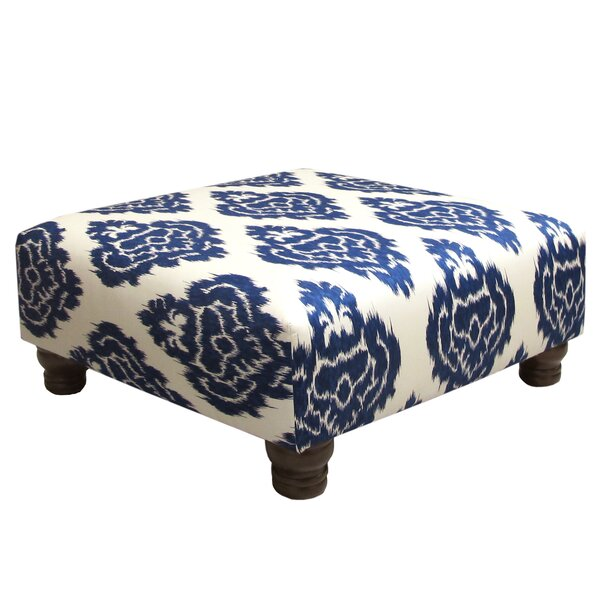 Diamond Cocktail Ottoman by Skyline Furniture