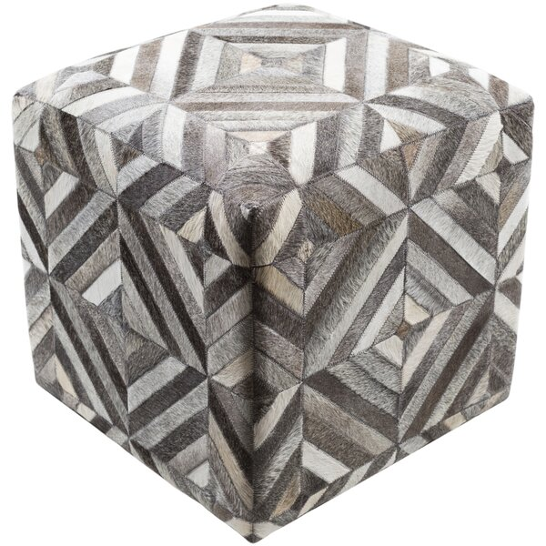 Iraan Upholstered Pouf by Brayden Studio
