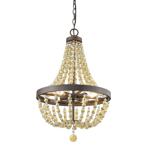 Prather 4-Light Empire Chandelier by Bay Isle Home