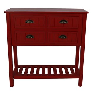 Rosas 4 Drawer Console Table