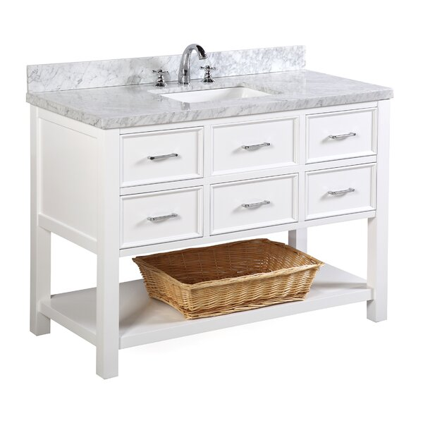 New Hampshire 48 Single Bathroom Vanity Set by Kitchen Bath Collection