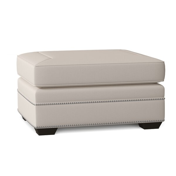 Grandview Leather Ottoman By Bernhardt