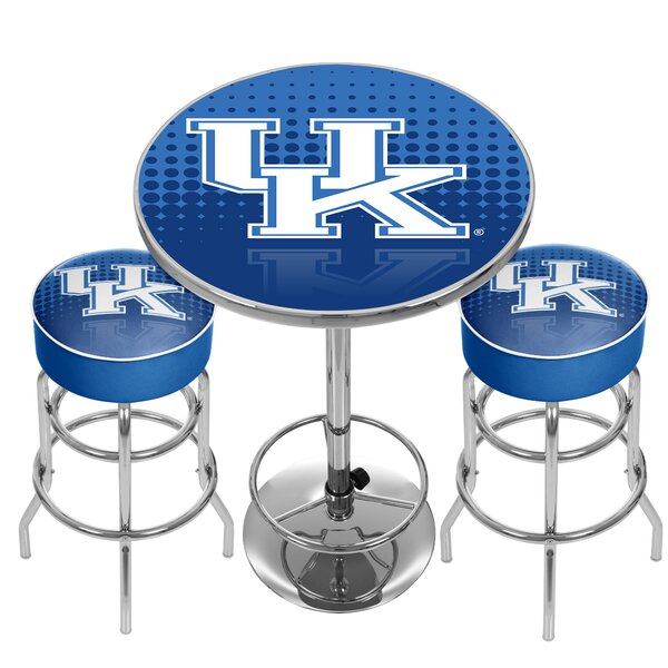 NCAA Game Room Combo Pub Table by Trademark Global