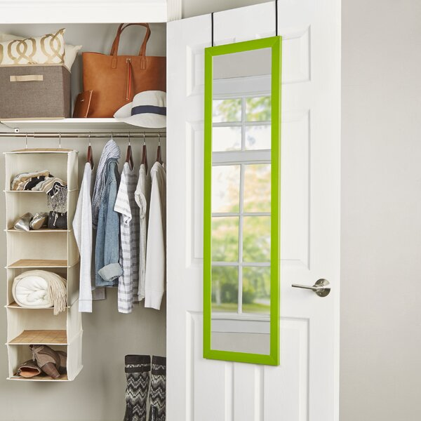 Wayfair Basics Over-the-Door Mirror by Wayfair Basics™