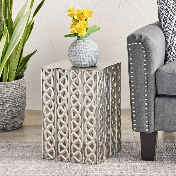 Kingsford End Table By World Menagerie