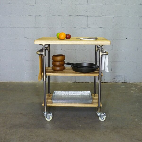 Hogsett Kitchen Cart by Williston Forge