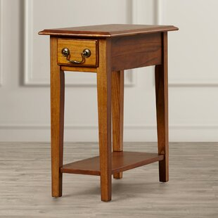 Searching for Revere Broomhedge End Table With Storage ByAlcott Hill