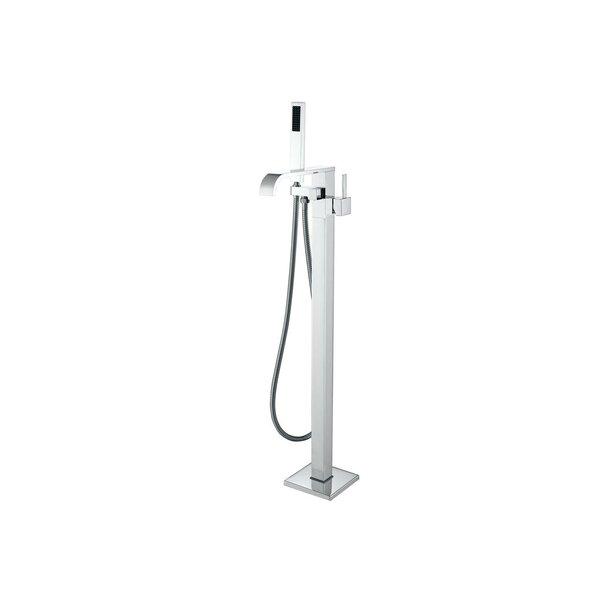 Single Handle Floor Mount Freestanding Tub Filler with Hand Shower by MTD Vanities