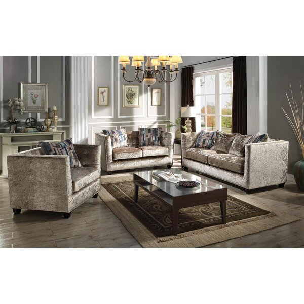 Fulbright Configurable Living Room Set by Everly Quinn