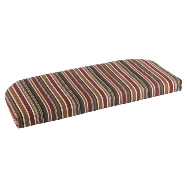 Indoor/Outdoor Sunbrella Bench Cushion by Wildon Home ®