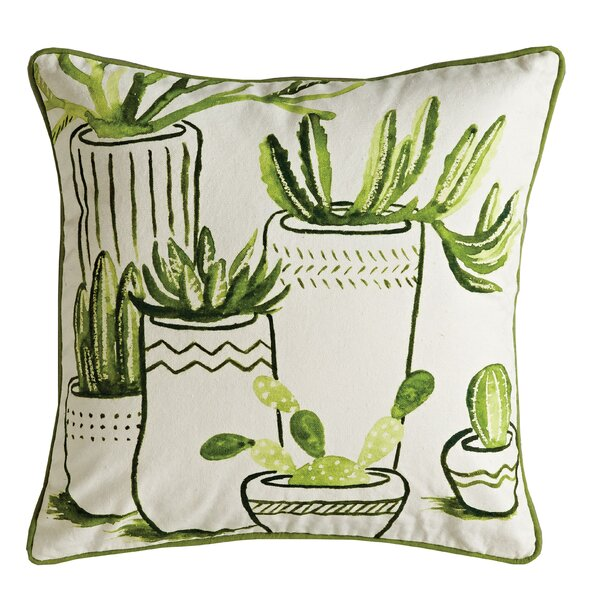 Ecker Throw Pillow by Bungalow Rose