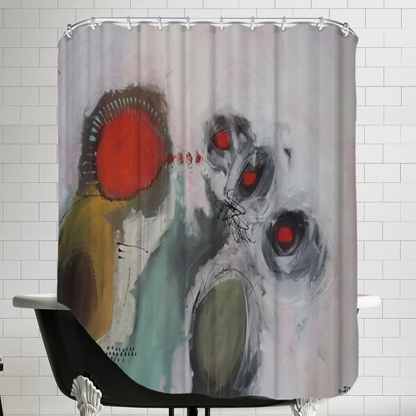 Mordicus 1.1 Shower Curtain by East Urban Home