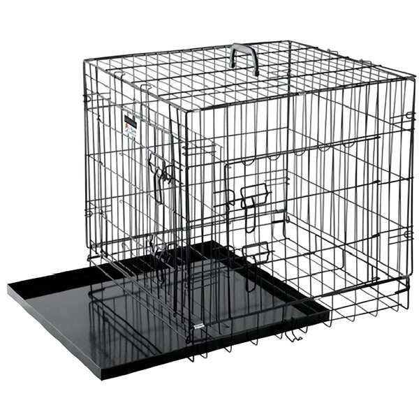 Folding Pet Crate by Pet Trex
