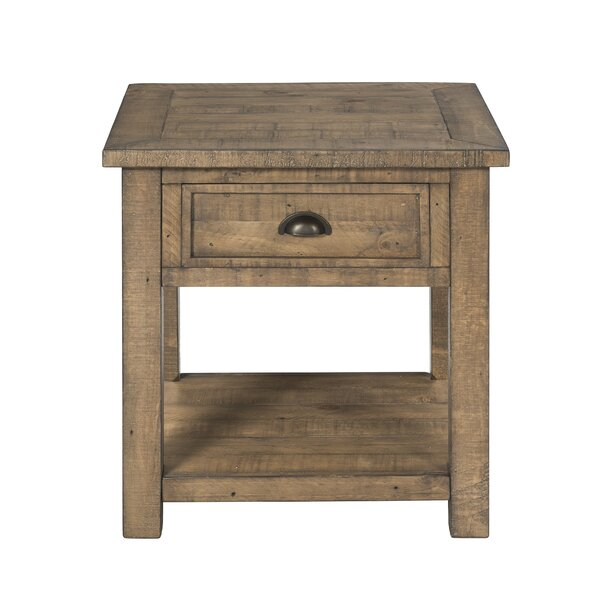 Simmers End Table by Gracie Oaks