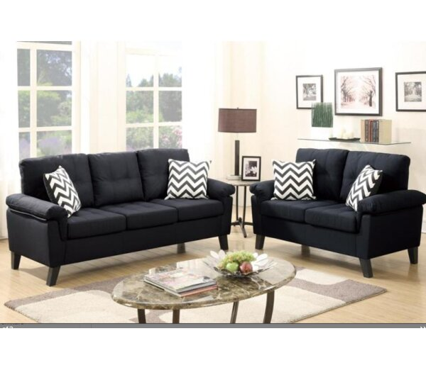 Berkeley Sofa and Loveseat Set by A&J Homes Studio
