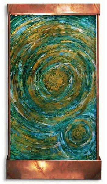 Galaxy Acrylic/Metal Genesis Fountain by Harvey Gallery