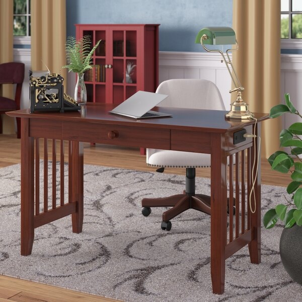 Livonia Writing Desk by Three Posts