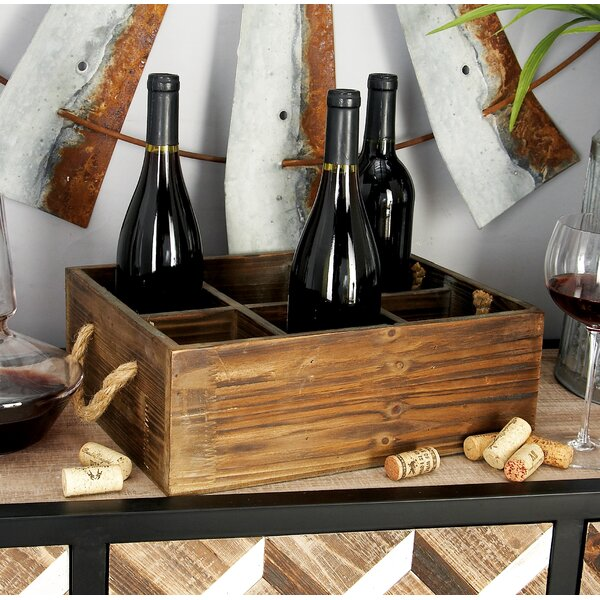 6 Bottle Tabletop Wine Rack by Cole & Grey