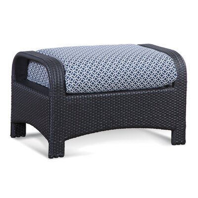 Brighton Pointe Ottoman with Cushion Fabric: 6350-91