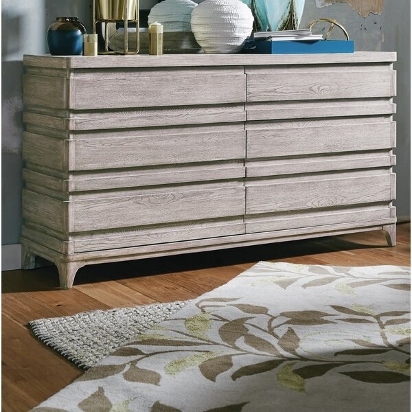 Freitas Wood 6 Drawer Double Dresser by Gracie Oaks Gracie Oaks