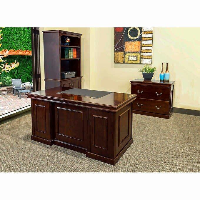 Absolute Office Combo 3 Piece Desk Suite