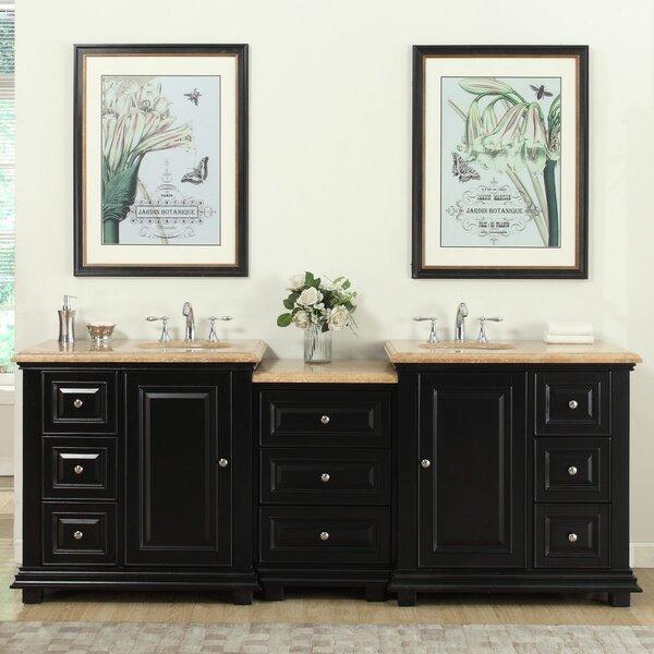 Hebden 91 Double Bathroom Vanity Set