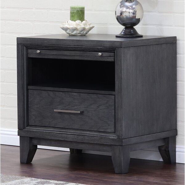 Verbana 1 Drawer Nightstand by Latitude Run