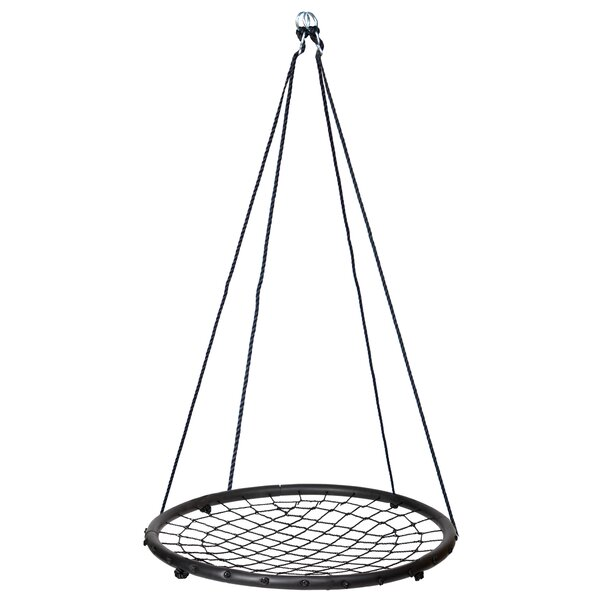 Keysville Web/Saucer Swing Seat with Chains and Hooks by Freeport Park
