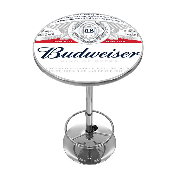 Budweiser Pub Table by Trademark Global