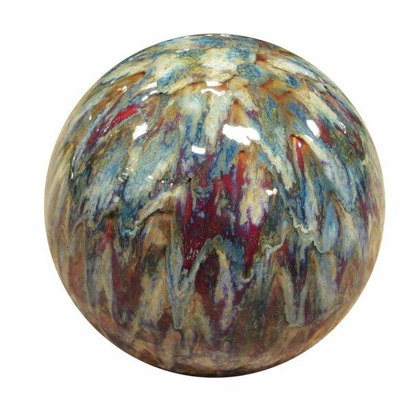Ceramic Gazing Globe by Alpine