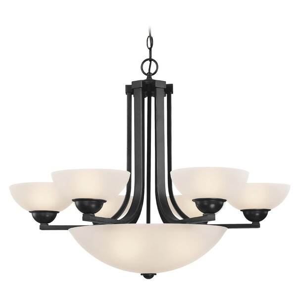 Peluso 6-Light Shaded Empire Chandelier by Charlton Home Charlton Home