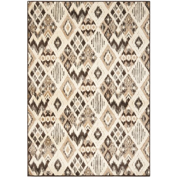 Thom Felica Brown/Taupe Area Rug by Safavieh