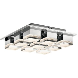 Tennyson 9-Light LED Flush Mount By House of Hampton