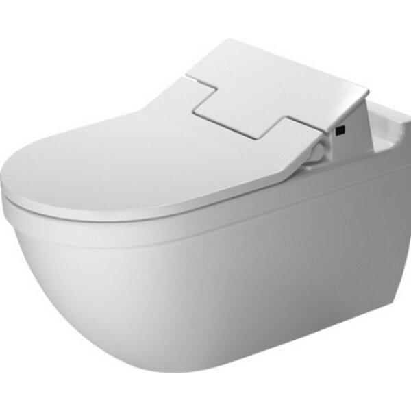 Starck Wall Mounted Durfix SensoWash Washdown 1.6 GPF Elongated Toilet Bowl by Duravit