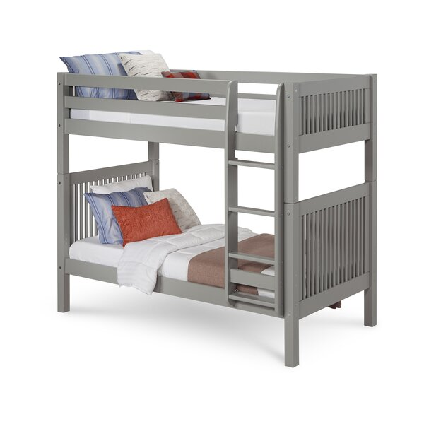 Rabon Twin over Twin Bunk Bed by Harriet Bee
