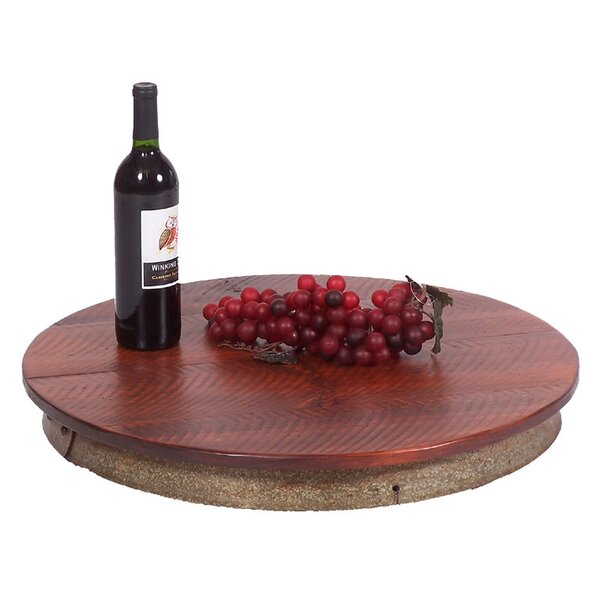 Wine Stave Laisy Daisy Lazy Susan by 2 Day Designs, Inc
