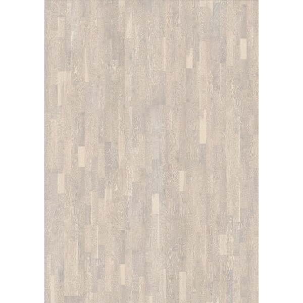 Harmony and Tropical 7-7/8 Engineered Oak Hardwood Flooring in Limestone by Kahrs