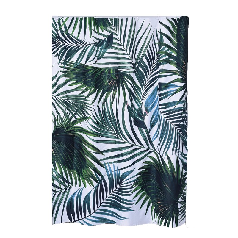 Printed Polyester Fabric Shower Curtain
