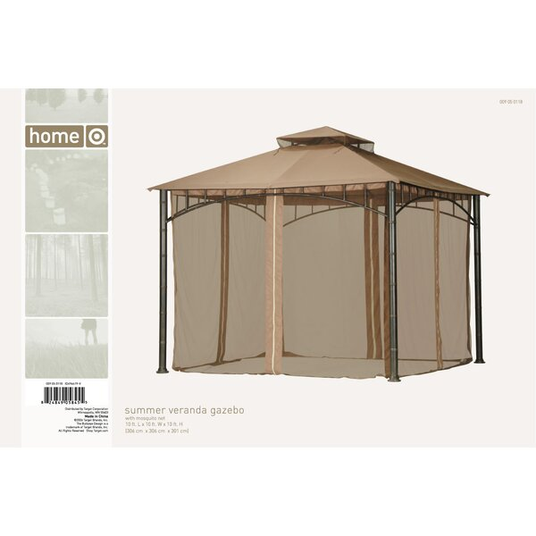Replacement Canopy for Summer Veranda Gazebo by Sunjoy
