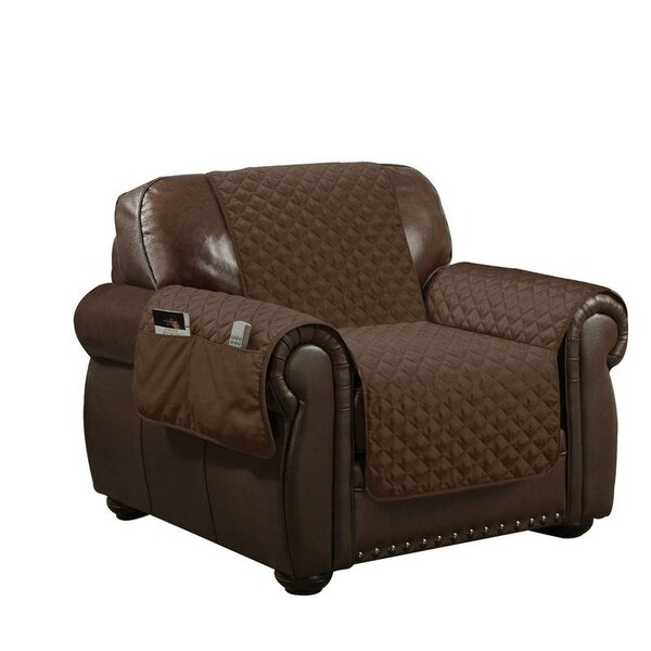 Water Resistant T-Cushion Armchair Slipcover by Symple Stuff