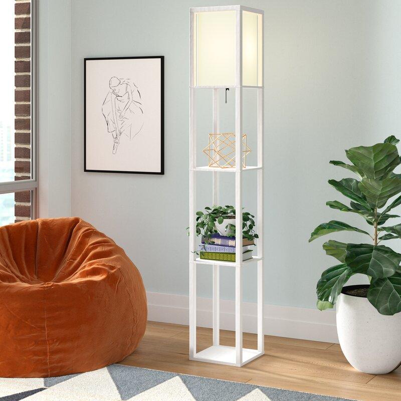 "Breault 10"" Column Floor Lamp"