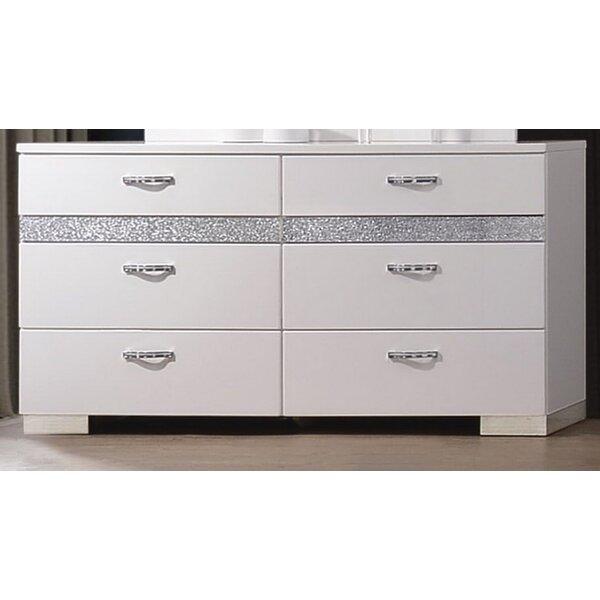 Dewitt 8 Double Dresser by Orren Ellis Orren Ellis